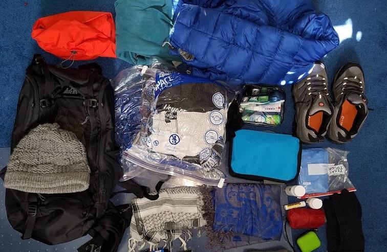 empacar mochila