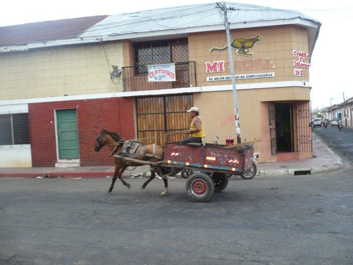 Un modo de transportarse en León