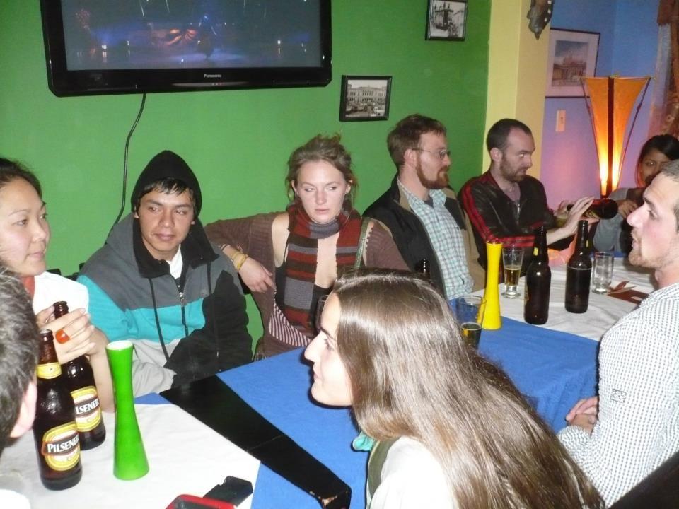 Amigos viajeros en Riobamba