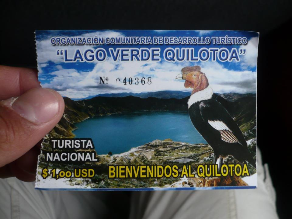 entrada quilotoa