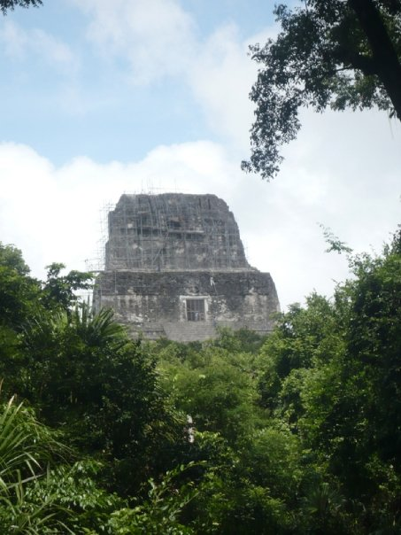 Tikal ruina