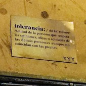 tolerancia letrero