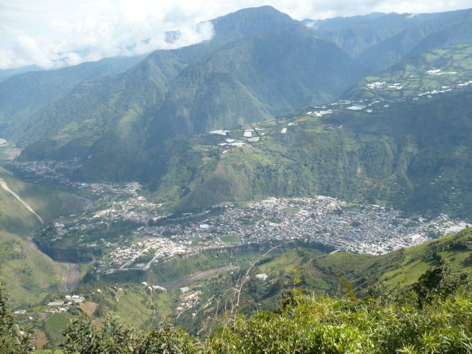 Ciudad de Baños, Ecuador