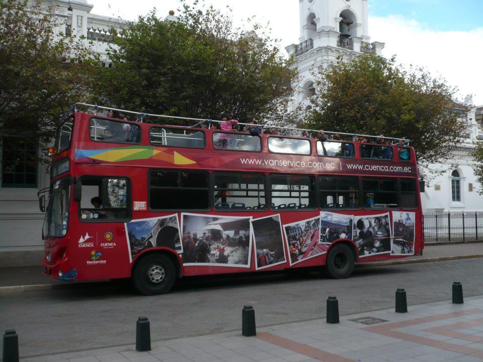 Bus de tour de la ciudad de Cuenca