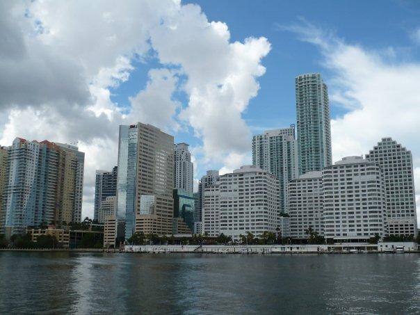 Edificios del centro de Miami