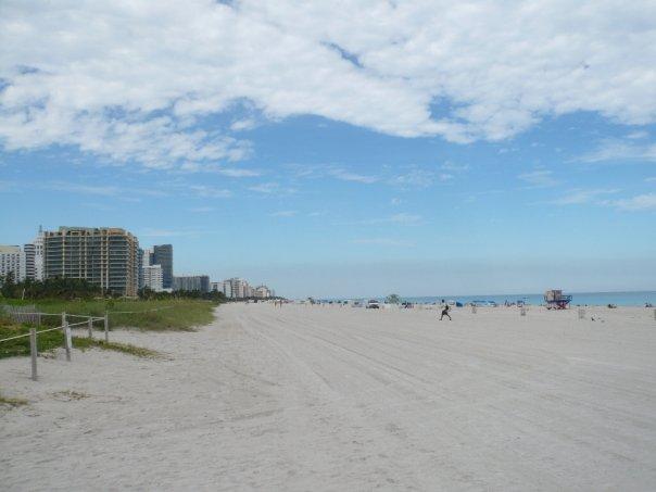 Playa cercana a Ocean Drive