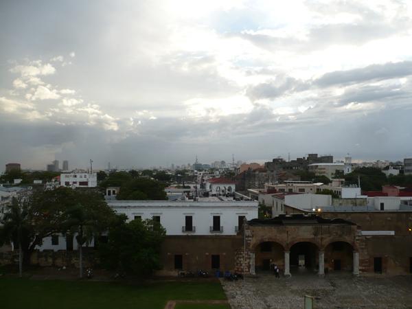 Vista de la zona colonial