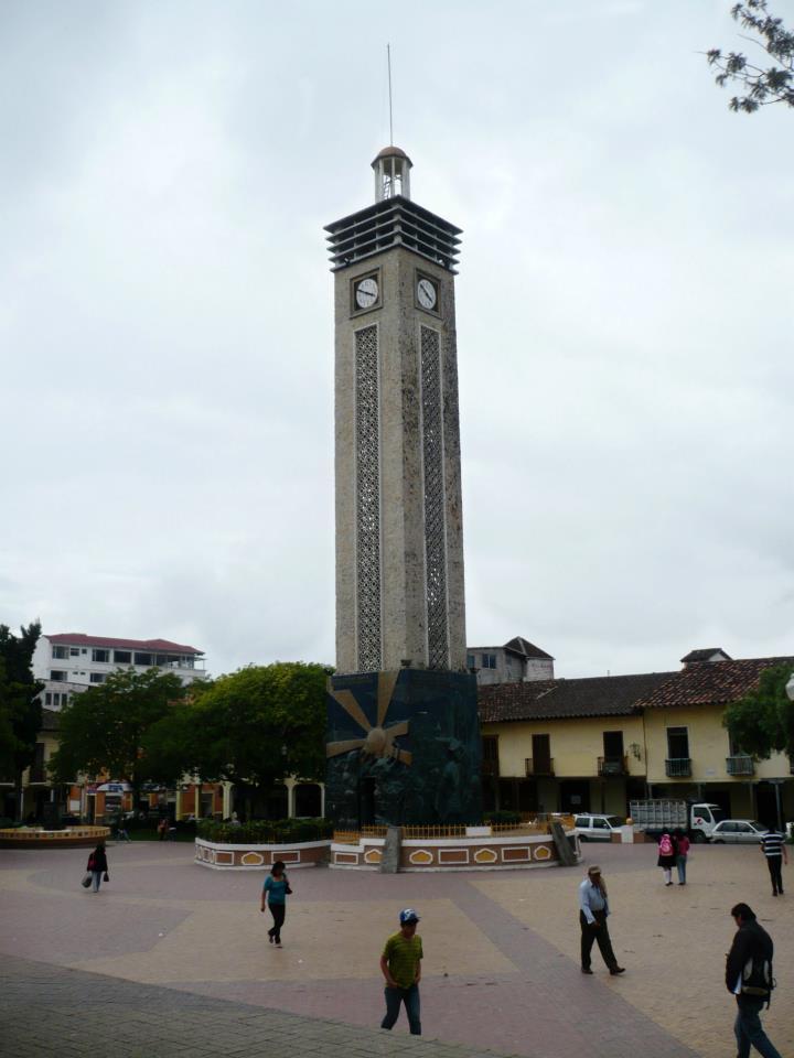 Torre del tiempo, Loja, Ecuador