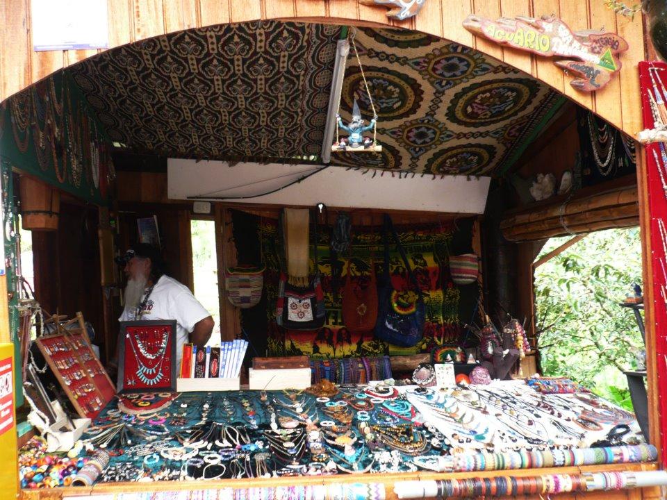 Vendedor en Baños, Ecuador