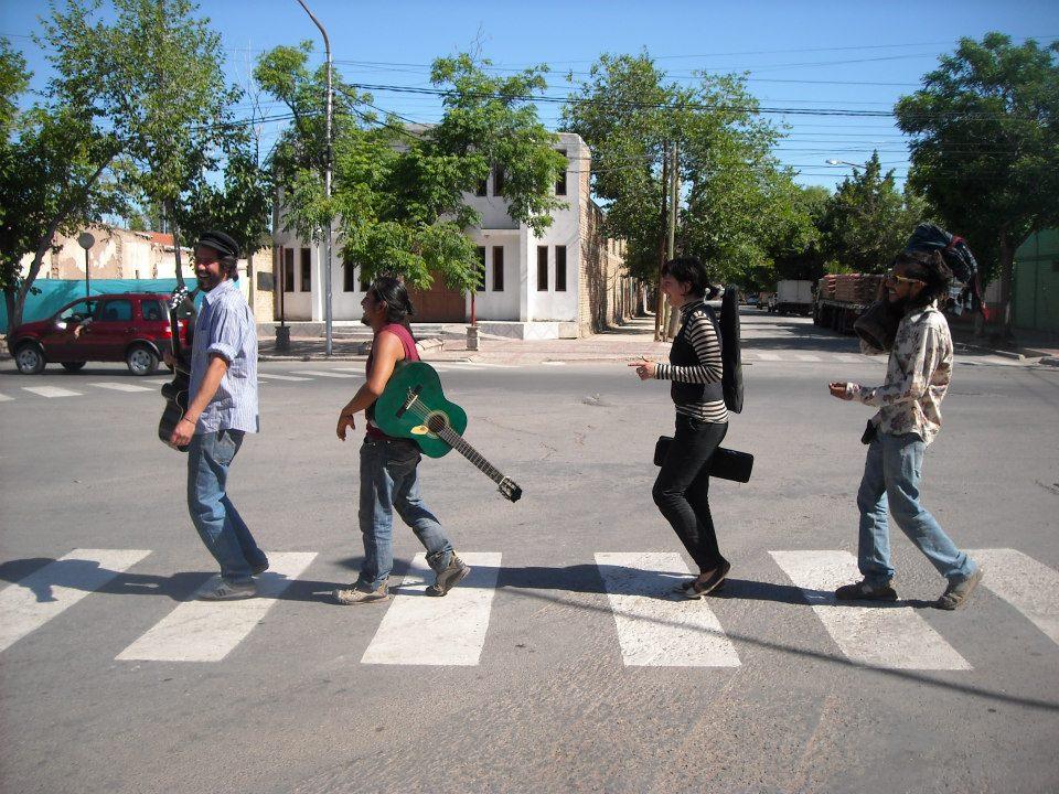 Musicos viajeros en Perú