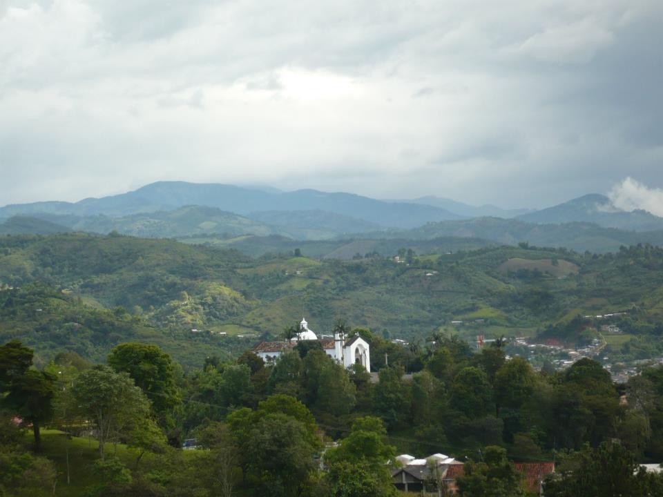Paisaje de Popayán