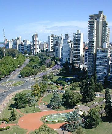 Ciudad de Rosario (Foto de Luciano Herrera)