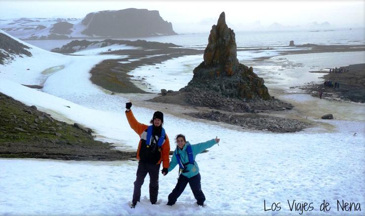 Pisando Antártida por primera vez: Islas Shetland