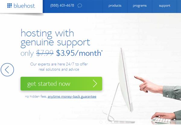 hosting get started now