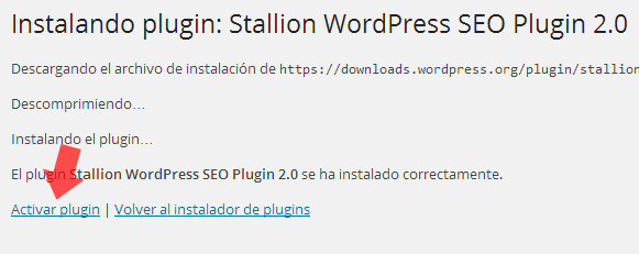 plugins activar plugin