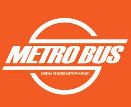 Logo que verás en las paradas de metrobuses