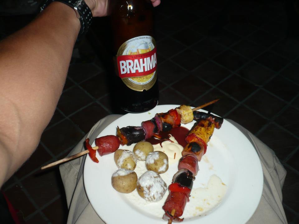 Manjar de año nuevo en Quito