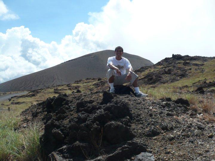 Visitando el volcán Masaya en Nicaragua