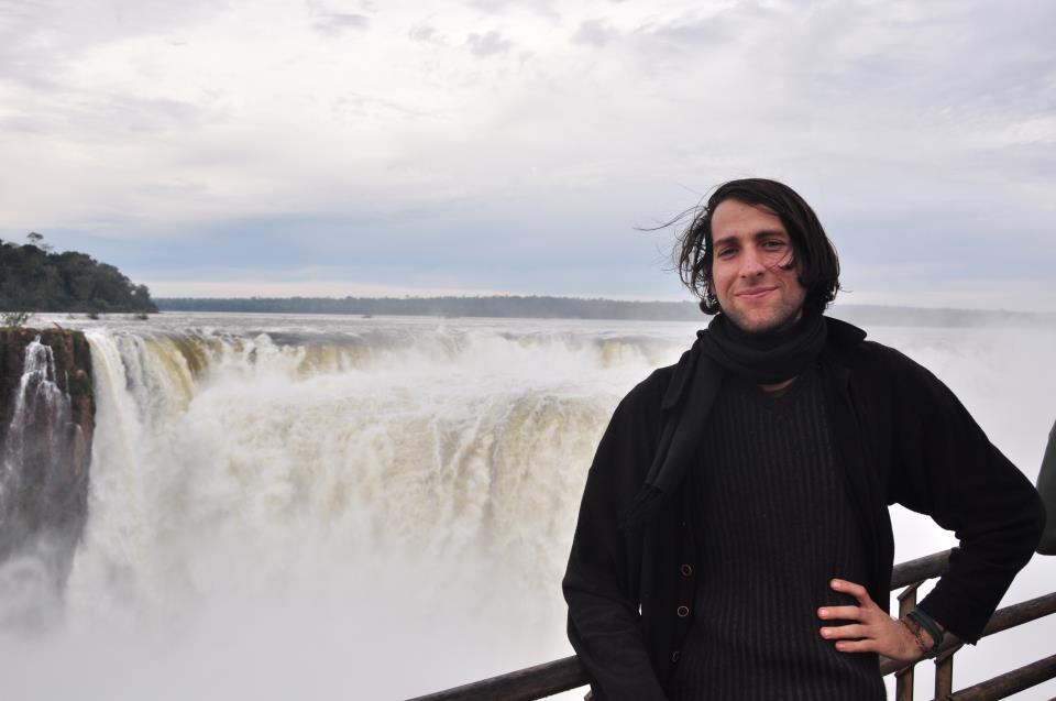 Gerson en las Cataratas del Iguazu