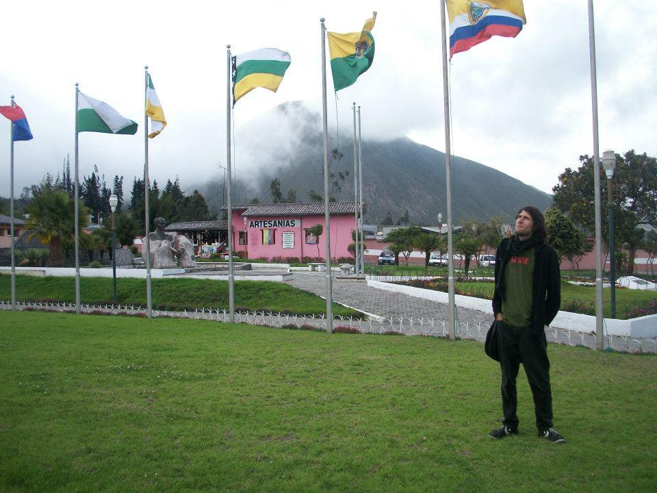 Gerson Rivera en la Ciudad Mitad del Mundo