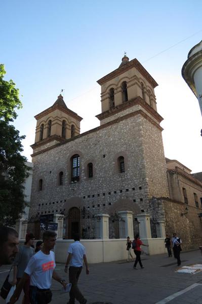 Iglesia de la Compañía de Jesús, ubicada en la Manzana Jesuítica