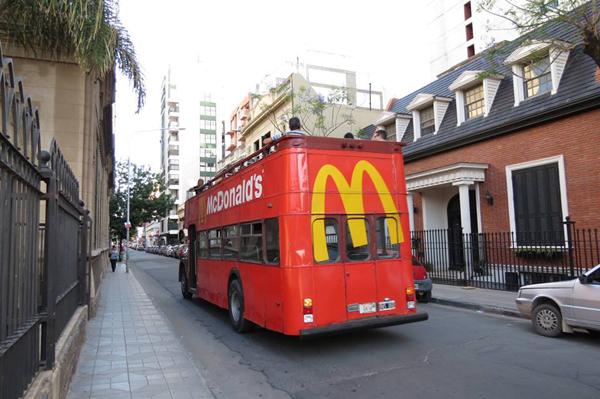 Citytour bus de Mcdonalds