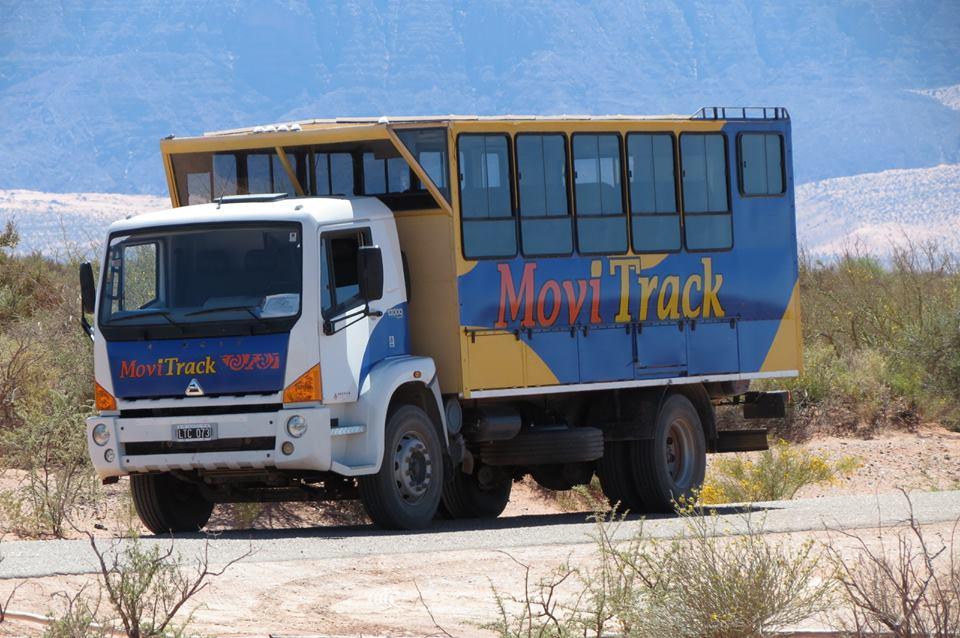 Camión 4x4 que nos llevo al Talampaya