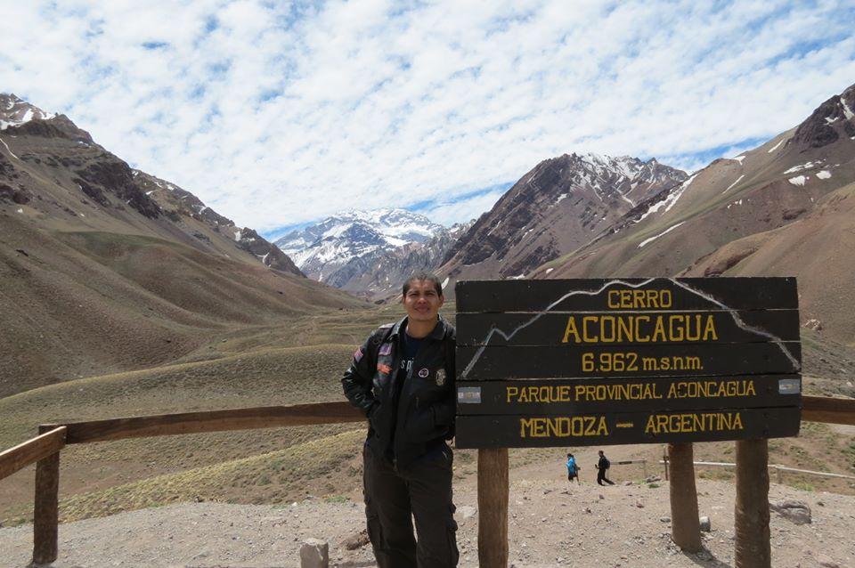 Mirador del cerro Aconcagua