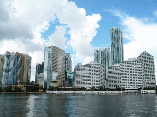 Rascacielos de la ciudad de Miami