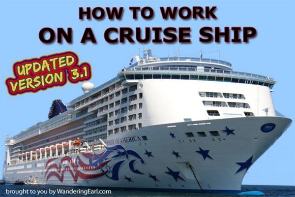 "Portada del ebook ""Trabaja en un Crucero"""