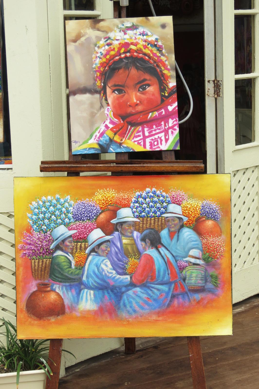 pintura local indigena