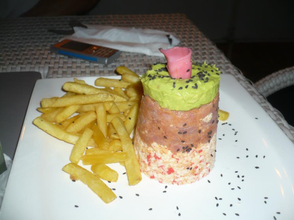 plato de comida bueno, bonito y barato en Santo Domingo, República Dominicana