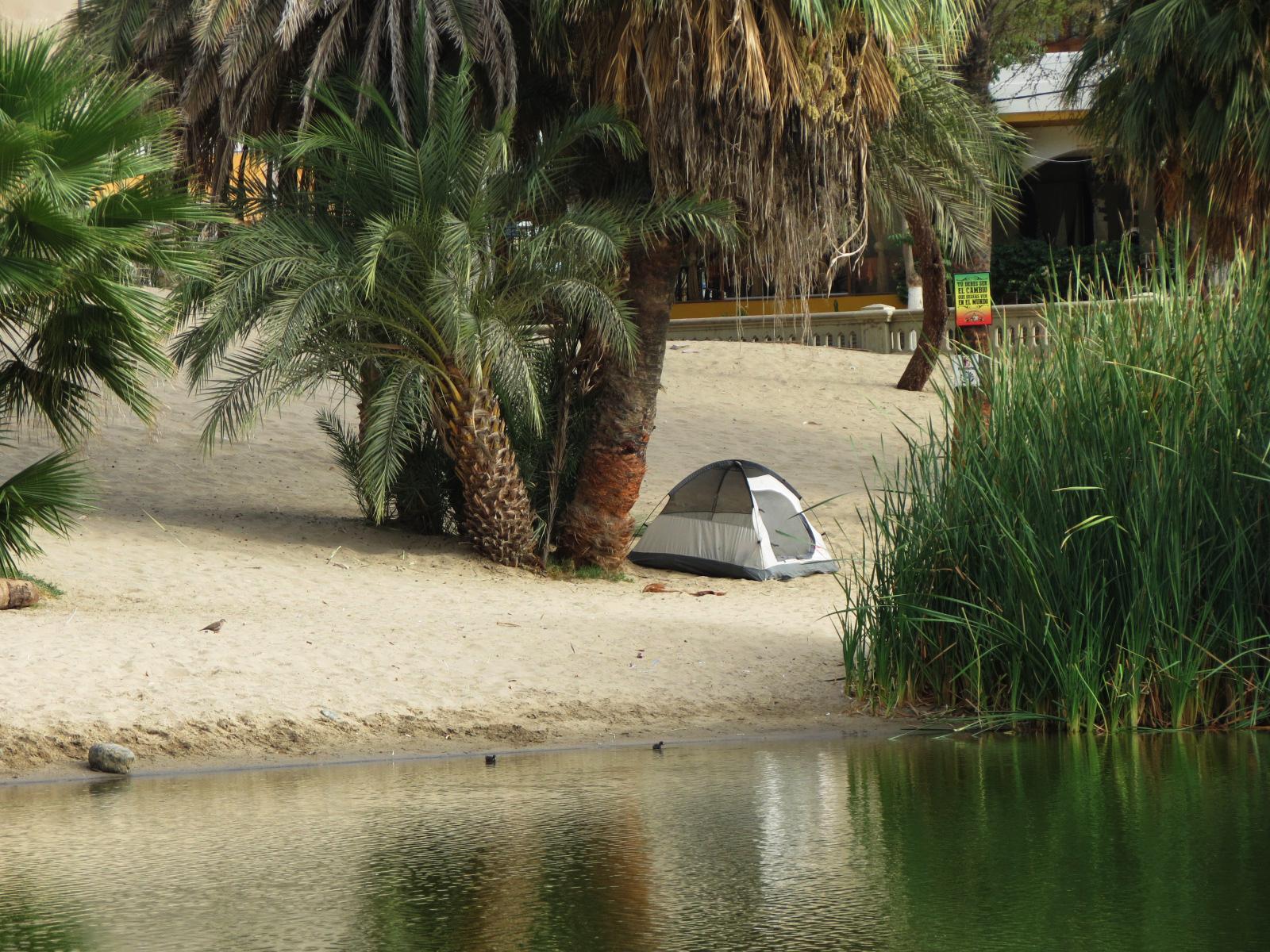 camping oasis huacachina