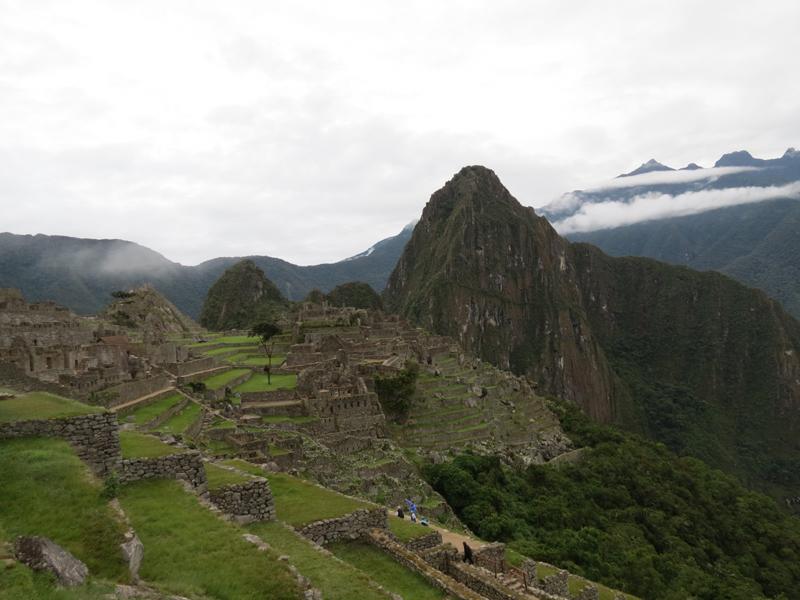 La clásica foto de Machu Picchu