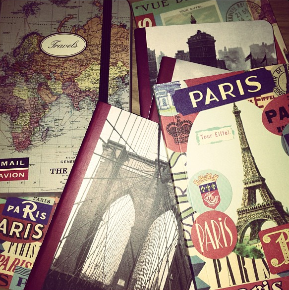 Libretas de viajes