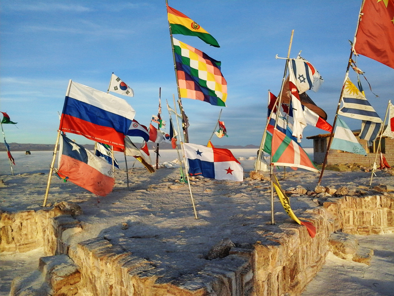banderas uyuni