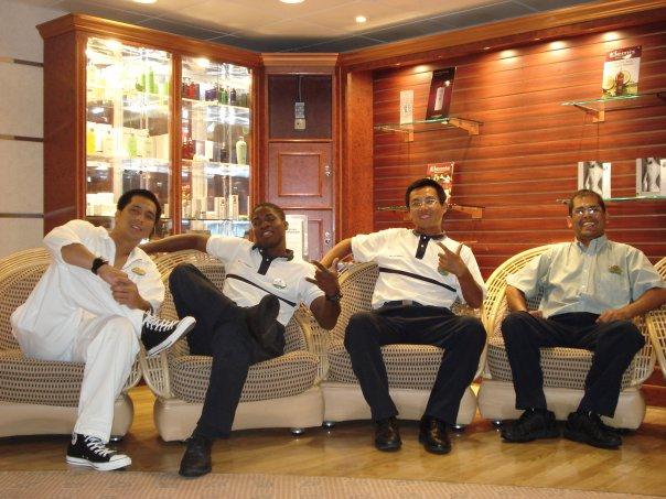 amigos del crucero