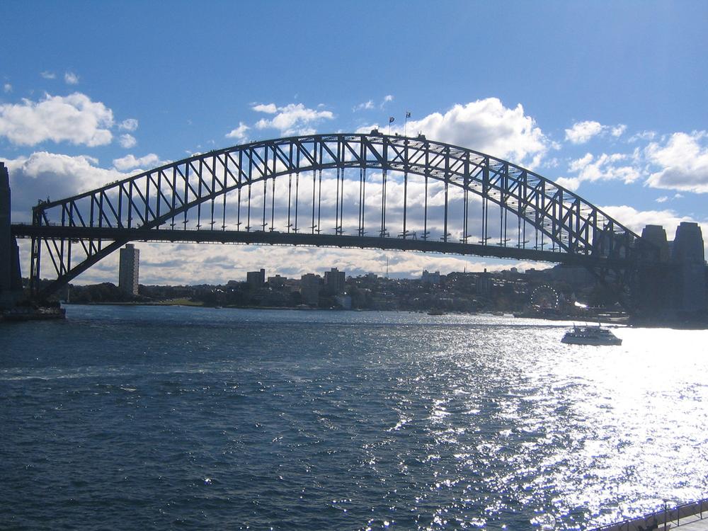 harbour bridge sidney australia