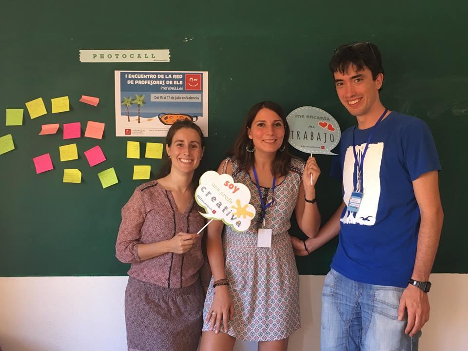 Beatriz Mora estudiantes